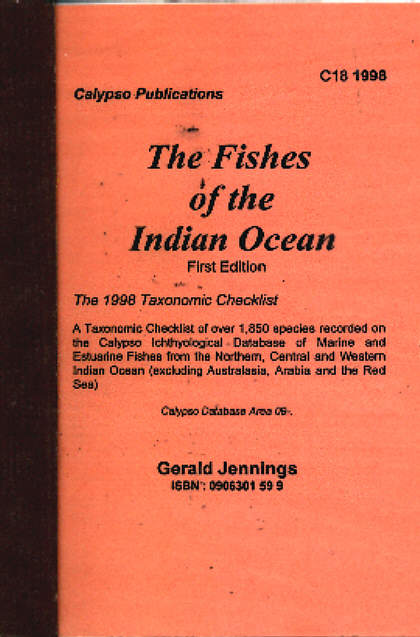 The Fishes of the Indian Ocean. Taxonomic Classification.