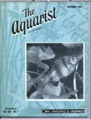 The Aquarist and Pondkeeper magazine 1970